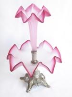 Μπιλιετιέρα - Ανθοδοχείο σε χρώμα ροζ
