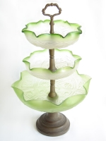 Three-level fruit vase
