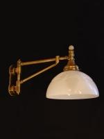 Bronze navy type wall light