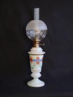 White table oil lamp